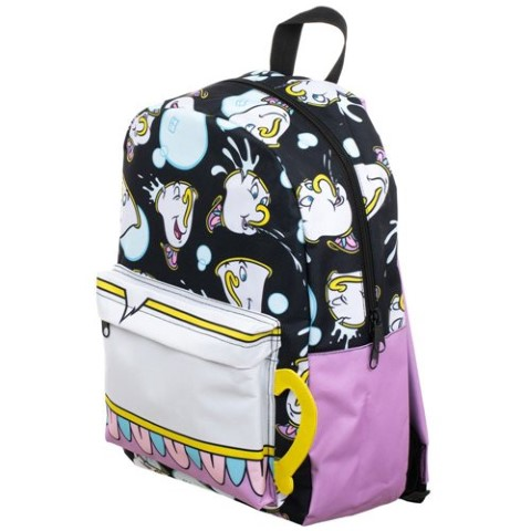 Beauty & The Beast Chip Print Backpack