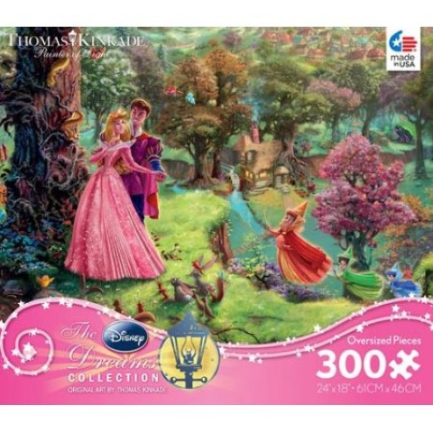 Disney Thomas Kinkade  Sleeping Beauty Puzzle 300pc