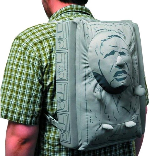 Han Solo Carbonite Plush Backpack