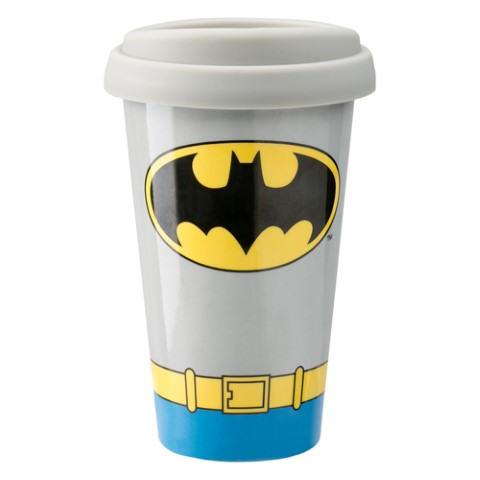 Batman Costume Travel Mug