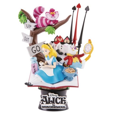 Alice in Wonderland D-Select 15cm Statue