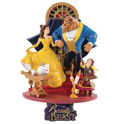 Beauty & The Beast D-Select Series 15cm Statue
