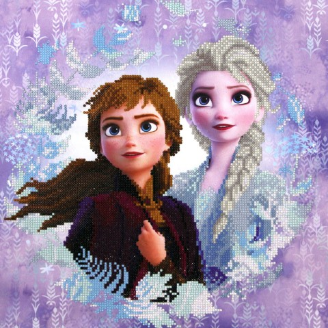 Frozen Snow Sisters