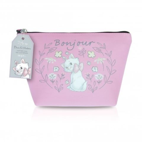 Disney Marie Cosmetic Bag Pink