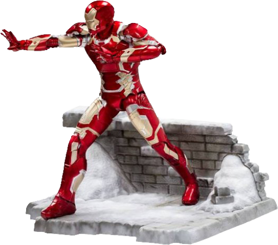 PREORDER  Avengers 2 Age of Ultron Iron Man XLIII Model Kit Vignette