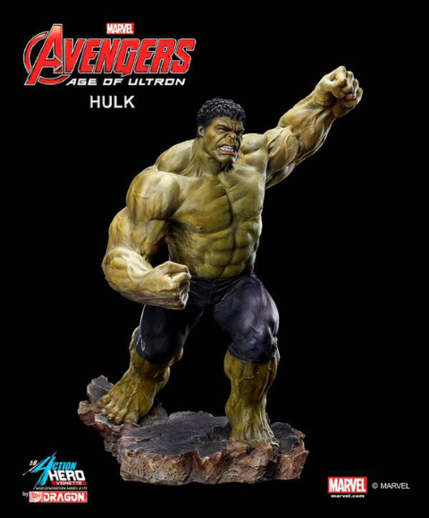 PREORDER  Avengers 2 Age of Ultron Hulk Model Kit Vignette