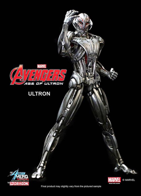 PREORDER  Avengers 2 Age of Ultron Ultron Multi Pose Model Kit Vignette