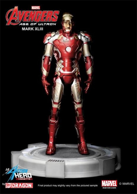 PREORDER  Avengers 2 Age of Ultron Mark 43 with Tony Stark Head
