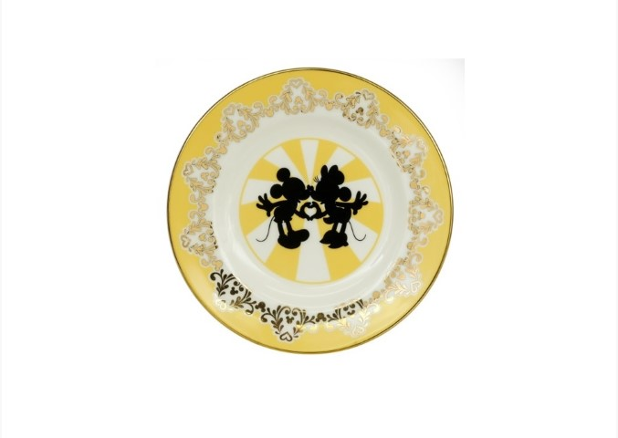PREORDER  Mickey & Minnie Modern 6in Plate