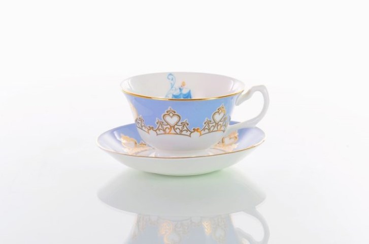 Cinderella Cup and Saucer Tea Set