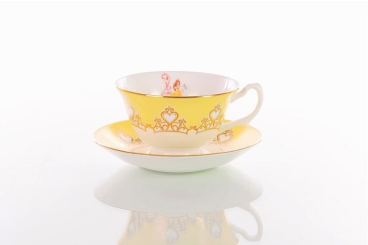 Beauty & The Beast Belle Cup and Saucer Tea Set