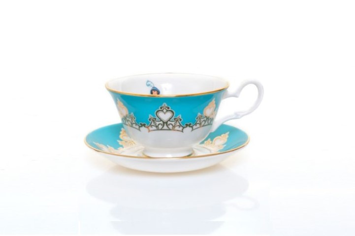 Aladdin Jasmine Cup and Saucer Tea Set