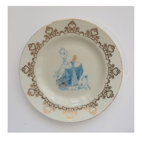 Cinderella 6in Plate