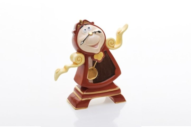 Beauty & The Beast  Cogsworth Statuette