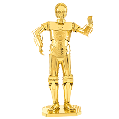 Metal Earth - Star Wars - C-3PO Gold