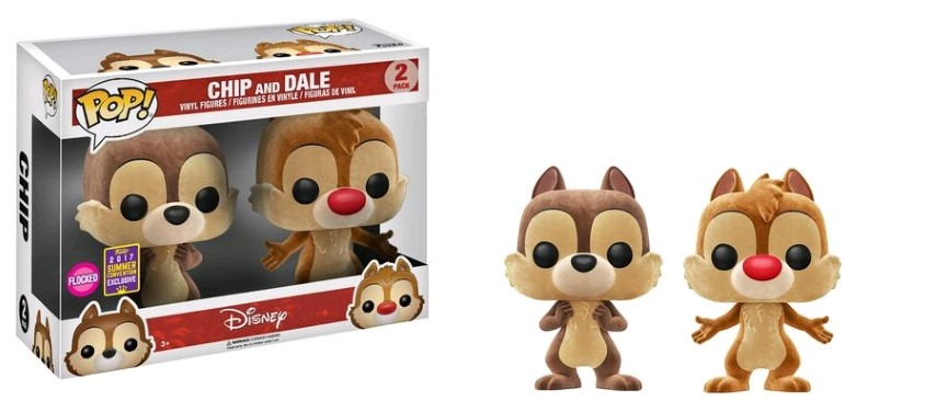 Disney - Chip and Dale Flocked Pop 2Pk SD17