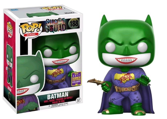 Suicide Squad - Joker Batman Pop SD17