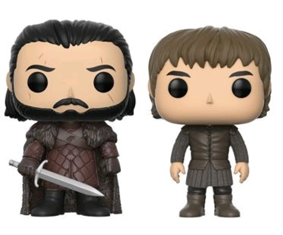 Game of Thrones - Jon & Bran Pop 2pk