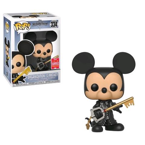 Kingdom Hearts  Mickey Org 13 Unhooded Pop Vinyl