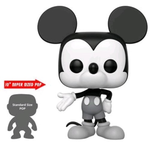 Mickey Mouse 90th Black & White 10
