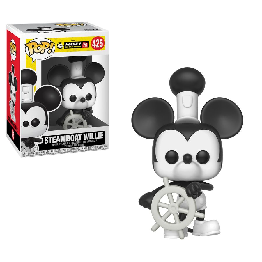 Mickey Mouse 90th Steamboat Willie Pop Vinyl