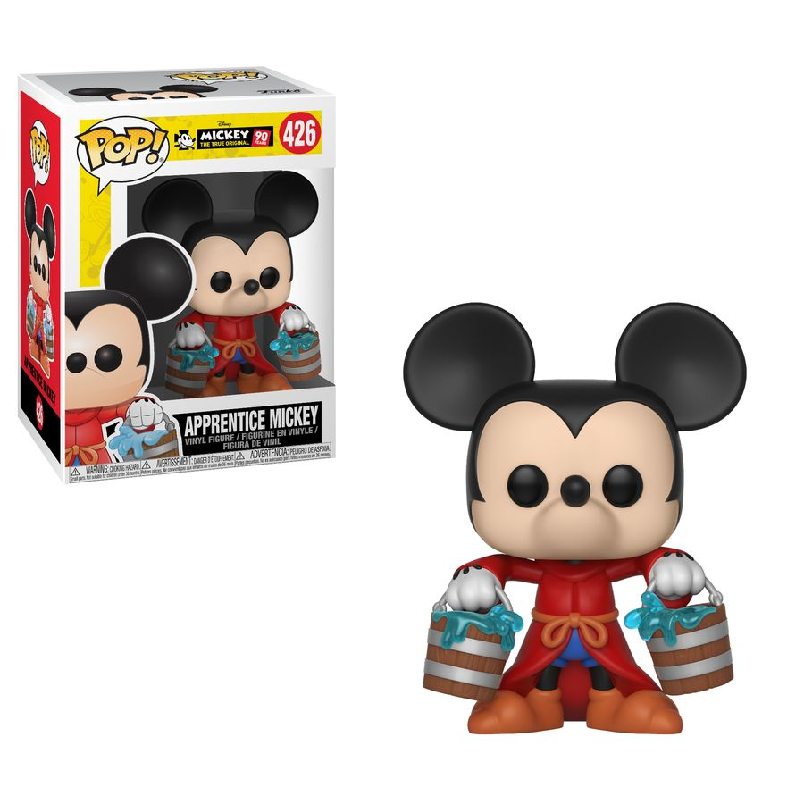 Mickey Mouse 90th Apprentice Mickey Pop Vinyl