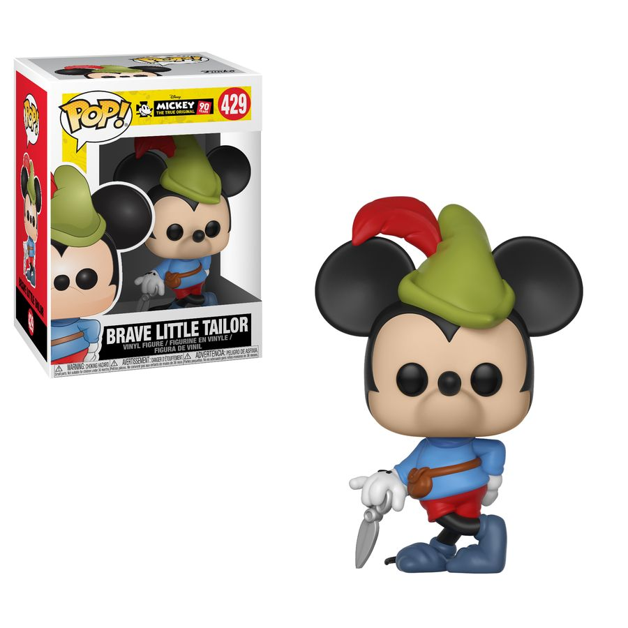 Mickey Mouse 90th Brave Little Tailor Pop Vinyl