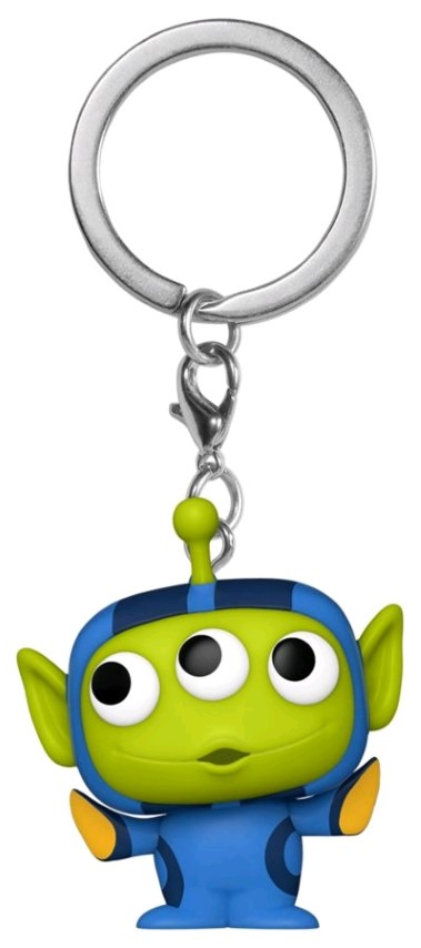 Alien Remix Dory Pop Keychain