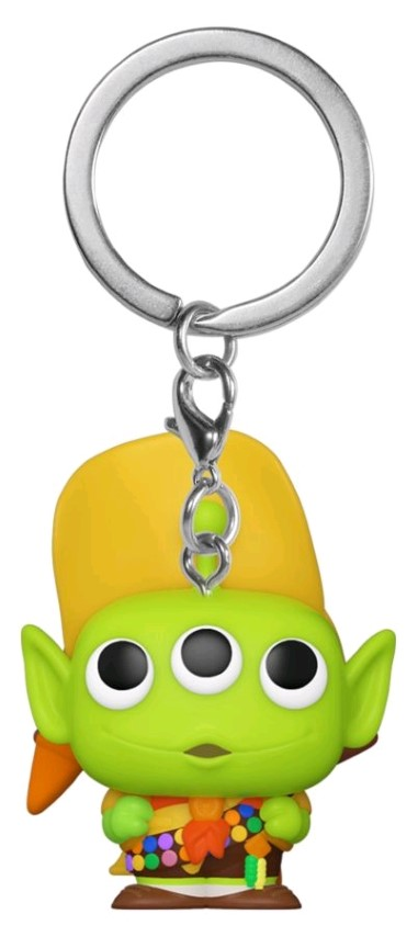 Alien Remix Russell Pop Keychain
