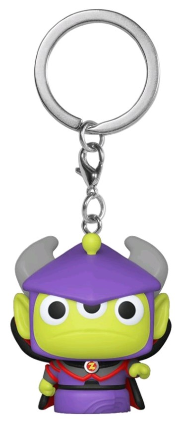 Alien Remix Zurg Pop Keychain