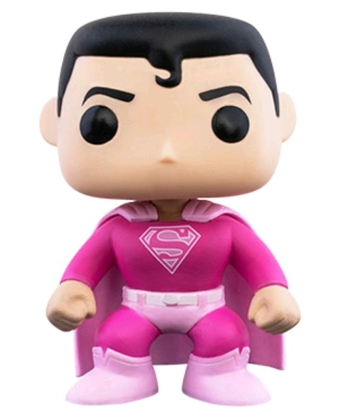 PREORDER Superman Breast Cancer Awareness Pop