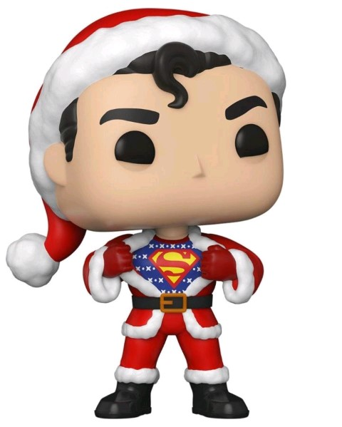 Superman Sweater Holiday Pop