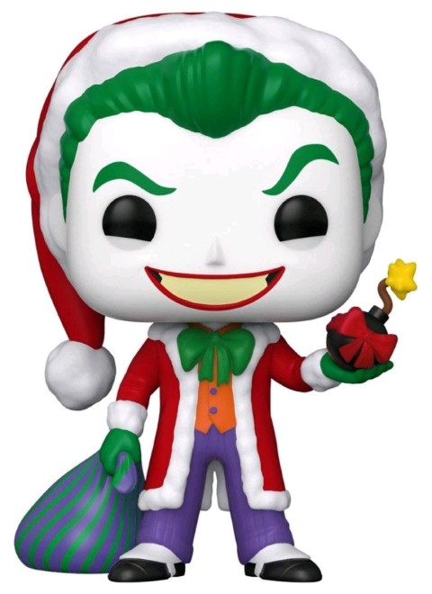 Joker Santa Holiday Pop