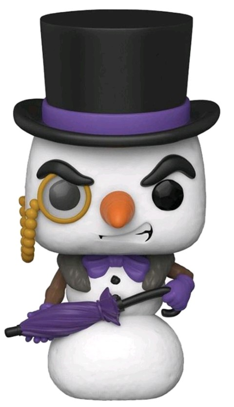 PREORDER Batman Penguin Snowman Holiday Pop