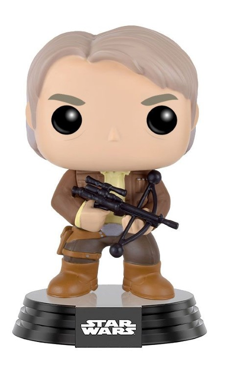Star Wars - Han Solo wBowcaster Ep 7 Pop SD16