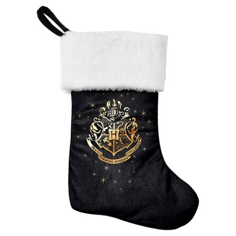 PREORDER Harry Potter Crest Christmas Stocking