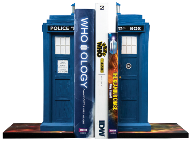 Doctor Who - Tardis Bookend Set