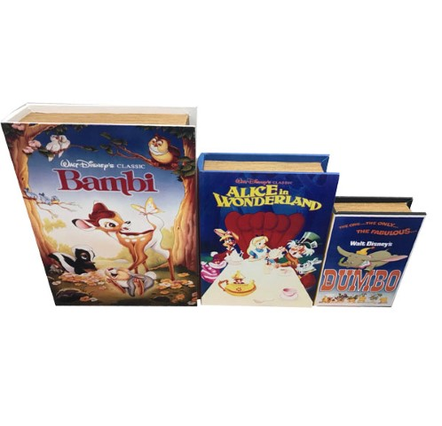 Classic Disney Movies Book Box Set of 3