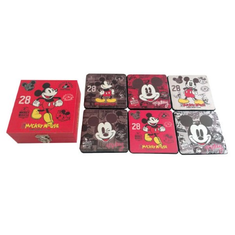 Mickey Vintage Coaster S6 in Gift Box