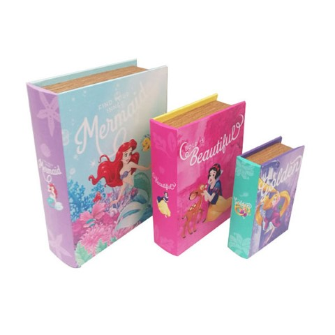 Disney Princess A Book Box Set of 3