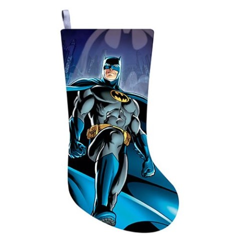 Batman Printed Satin Stocking
