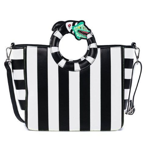 Beetlejuice Sandworm Handle Crossbody Bag