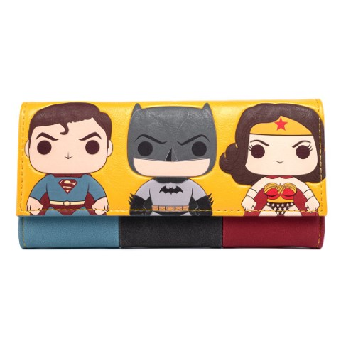 DC Comics Trio Wallet