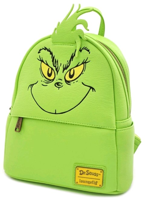 The Grinch Mini Backpack