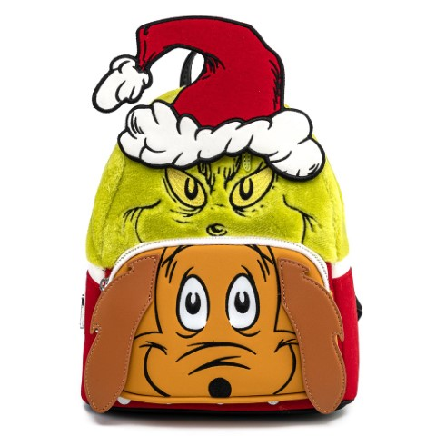 The Grinch and Max Cosplay Mini Backpack