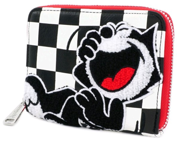 Felix the Cat Check Print Wallet