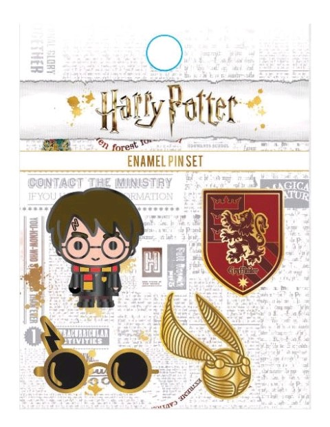 Harry Potter Enamel Pin 4pk