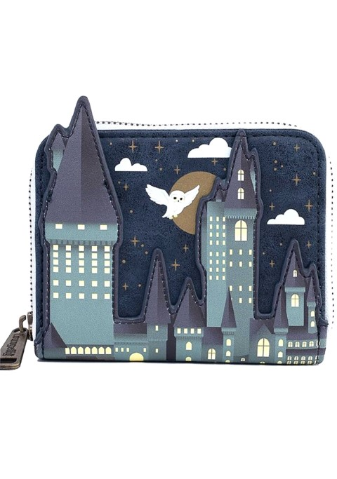 Hogwarts Castle Zip Around Wallet