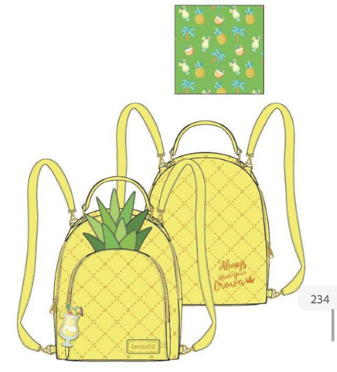 PREORDER  Pool Party Pineapple Mini Backpack
