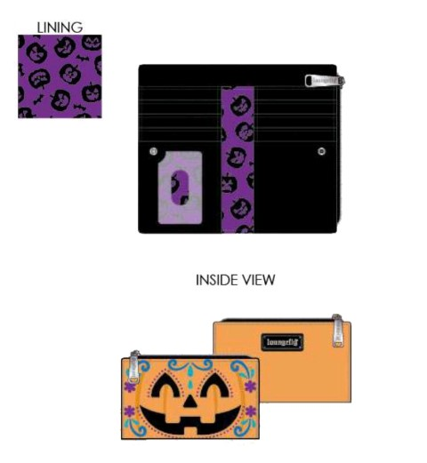 Halloween Pumpkin Wallet